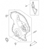 Timing Gear Cover 2.4 Duratorq